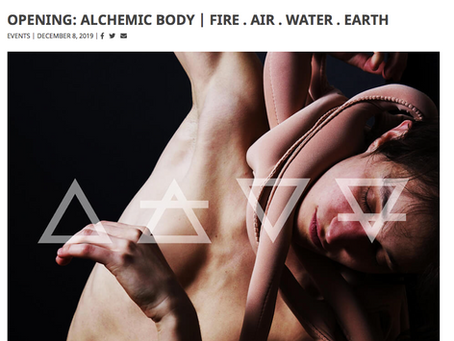 ALCHEMIC BODY. Exhibiting in London with Itsliquid Group