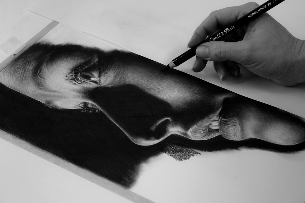 WORKSHOP - Ritratto carboncino_Work in p