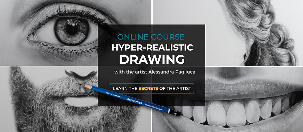 HYPER-REALISTIC DRAWING Online course