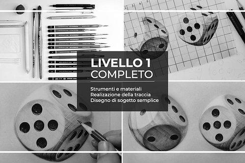 LIVELLO 1 | Le basi del disegno iperrealistico