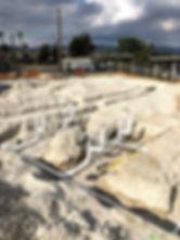 commercial underground plumbing