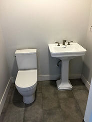 Plumbing Fixture Install