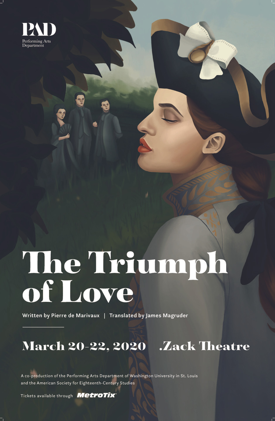 The Triumph of Love by Marivaux - #asecs2020