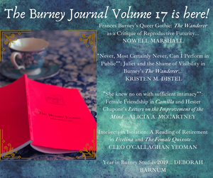Volume 17 of The Burney Journal is here!