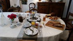 Petit-déjeuner de printemps