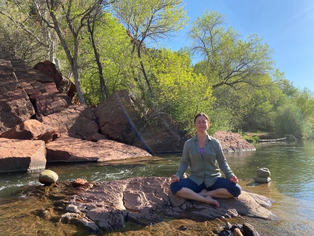 Meditate with Valentina on Sundays
