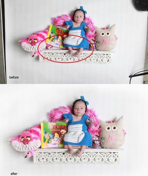 Baby on Shelf