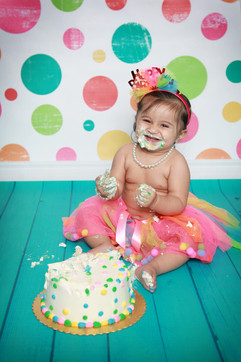 calgary cake smash photographer