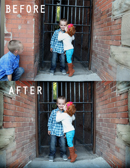 Photo editing to make the best photos for clients