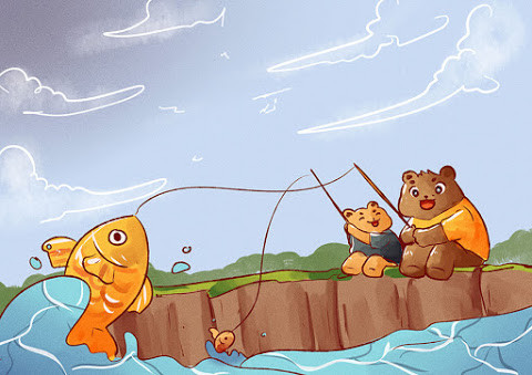 Let's Go Fishing, Dad!