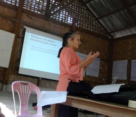 Women's Writing Workshop, Mai Hong Son Thai/Burma Border 2009