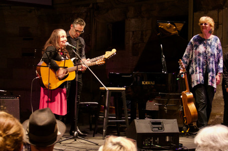 Tamlin, Janie & Margret Roadknight @ Sedition concert. A Forty year  Reunion of the All Together Now Australian tour