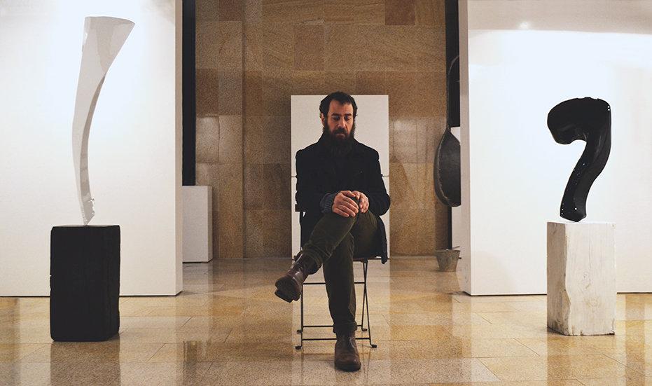 Muestra del escultor Gaston Luciano Bonanno. Sede de la tesoreria general de la seguridad social. Febrero de 2016. Mallorca, España.