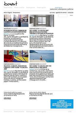 Bonart. Gaston Luciano Bonart. Gaston Luciano Bonanno - artista plastico - Galeria My name´s lolita art.