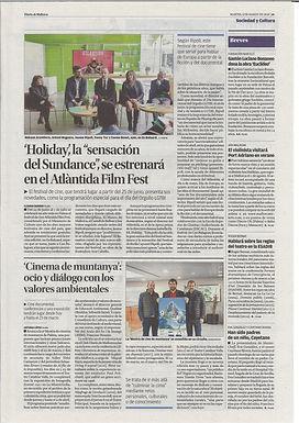 Diario de Mallorca. Gaston Luciano Bonanno.