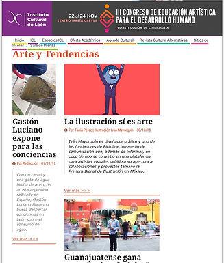 Instituto cultural de León. Gastón Luciano Bonanno. 7 de Noviembre de 2018.
