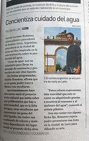 Periodico Correo, León, México. 29 de Septiembre de 2018.