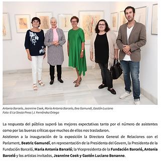 Diario la sieta / Mallorca-España. Gaston Lucino Bonanno / artita plastico.