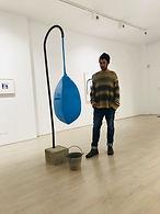 En la galeria Pep Llabrès art contemporany. Mallorca, España.