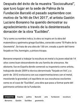 Canal Cuatro. Gaston Luciano Bonanno