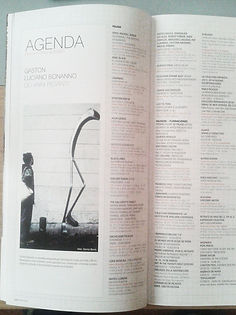 Revista Infomag - Mallorca - España. Gaston Luciano Bonanno / artista plastico