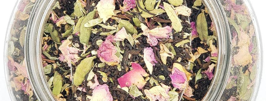 HILL STATION CHAI (CARDAMOM & ROSE) BY THE CHAI BOX