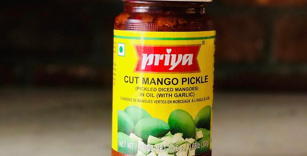 CUT MANGO PICKLE BY PRIYA