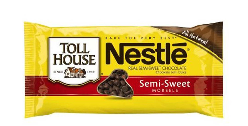 NESTLE TOLLHOUSE SEMI-SWEET CHOCOLATE CHIPS