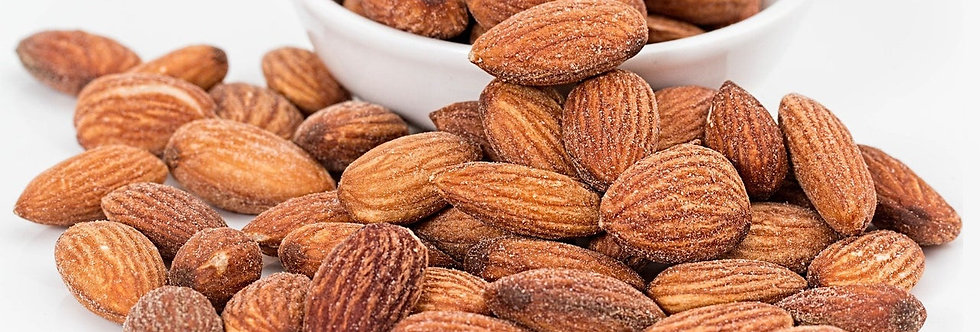 UNSALTED ROASTED ALMONDS BY DG PANTRY