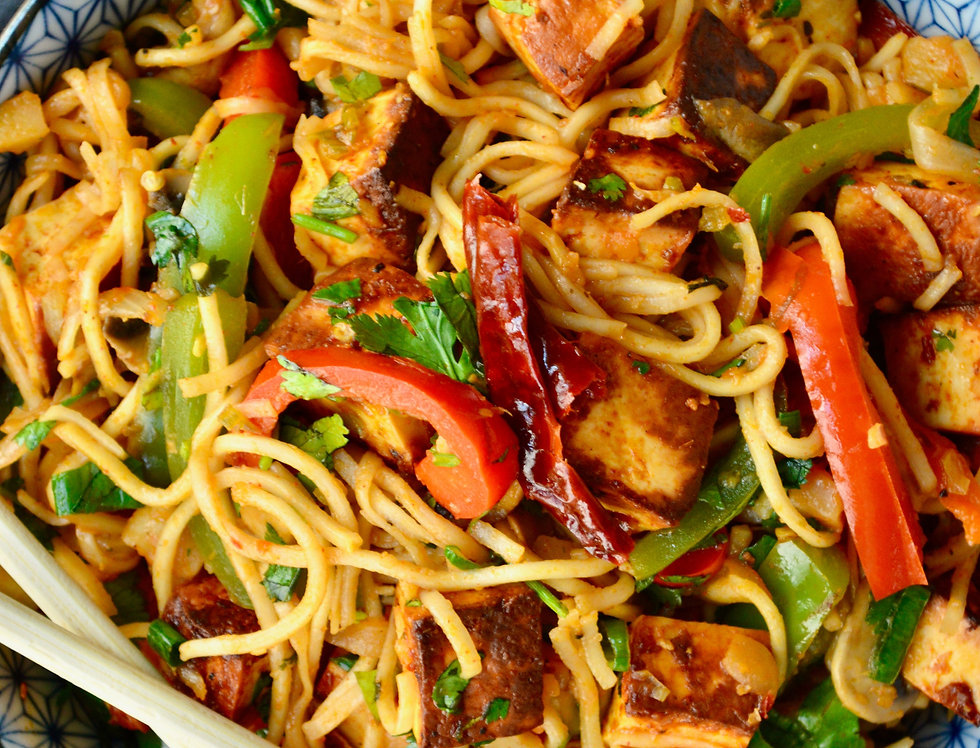 SCHEZWAN PANEER NOODLES MEAL KIT BY MY VEGETARIAN ROOTS