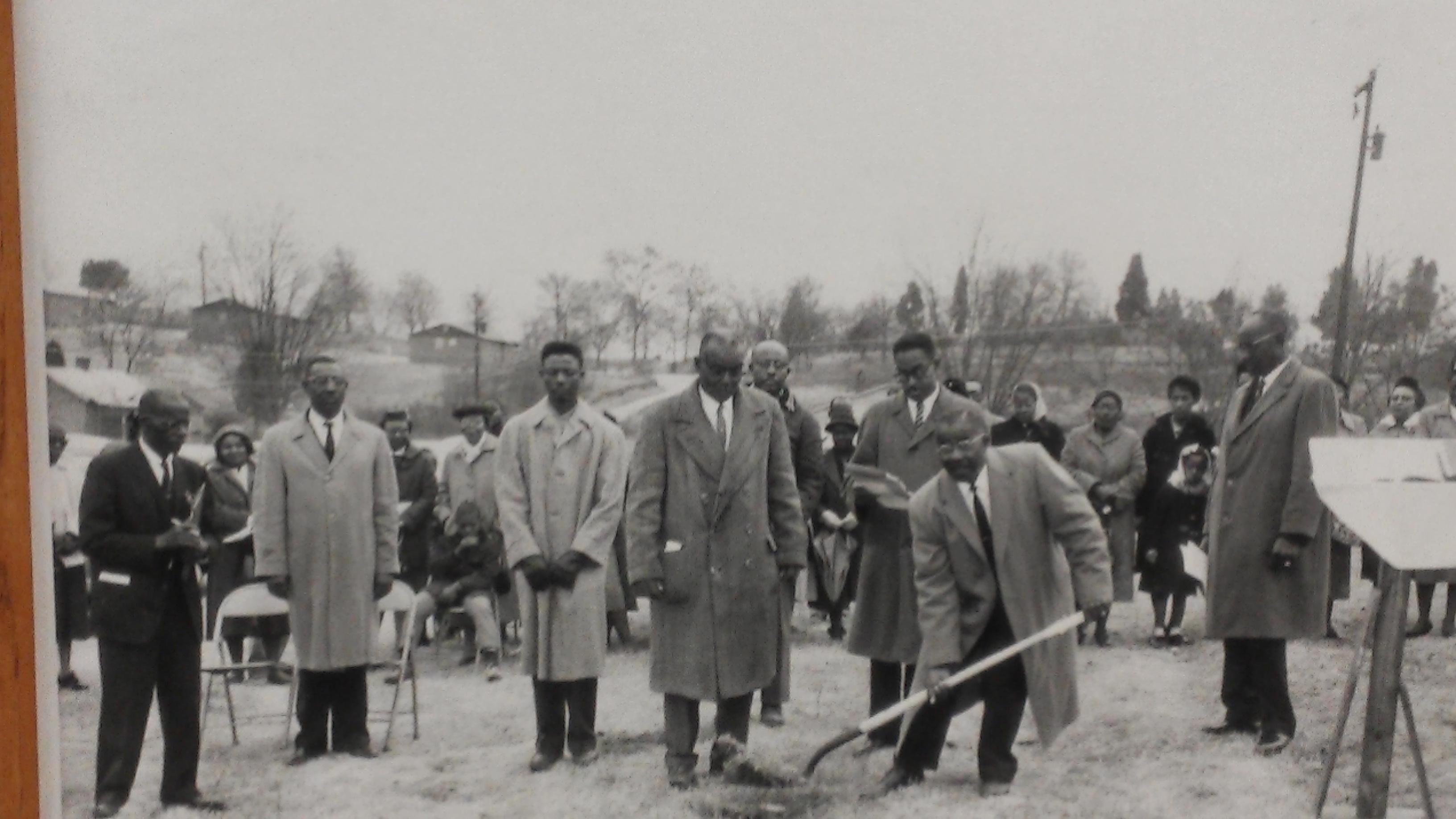 Ground Breaking of 1963