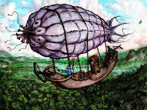 Fantasy Art painting by Walter Simon