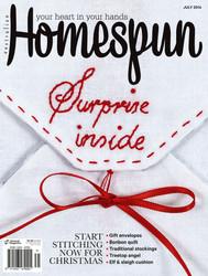 Homespun Magazine: July 2014