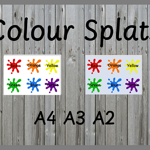 Colour Splats