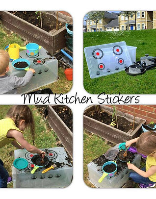 Mud Kitchen Stickers