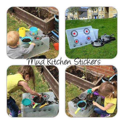Mud Kitchen Stickers