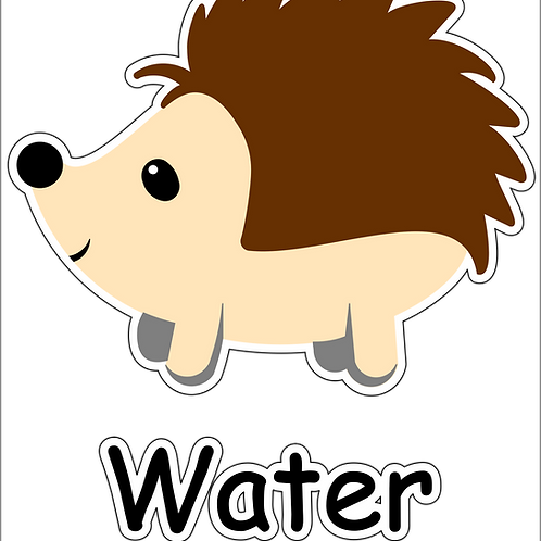 Hedgehog Water Station