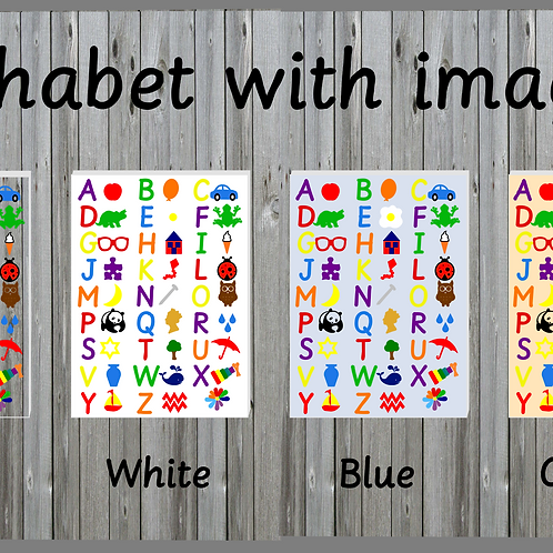 Alphabet with images