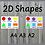 Thumbnail: 2D Shapes