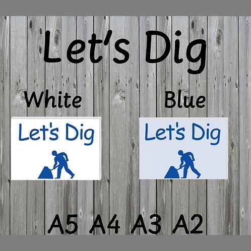 Let's Dig