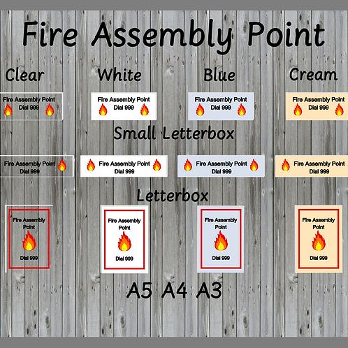 Fire assembly