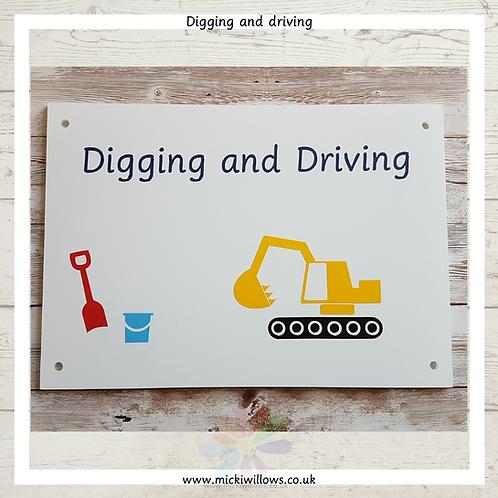 Digging & Driving