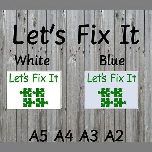 Let's Fix It