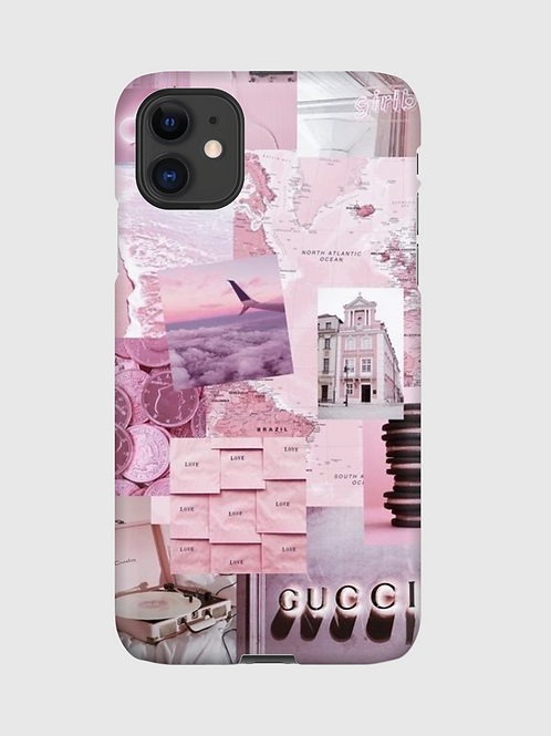 Candy Floss Collage Case
