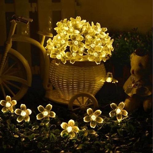 Transparent Flower Led String Fairy Light