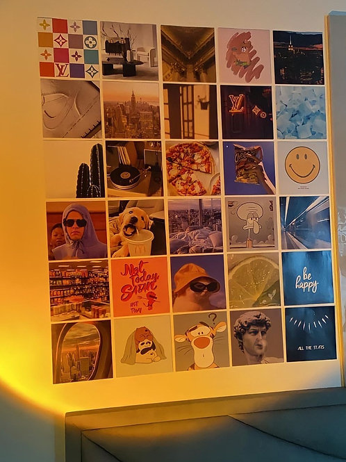 Mood Wall Collage