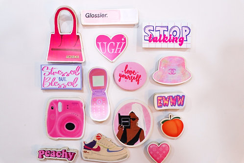 90s Babe Stickers