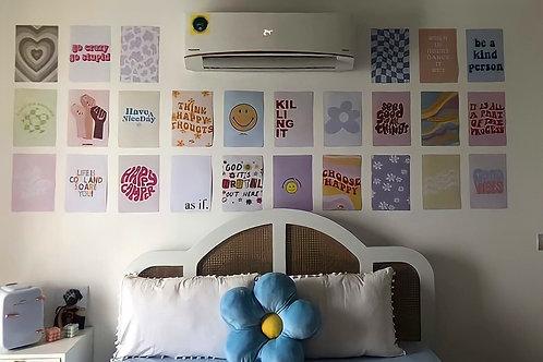 Danish Pastel Wall Collage