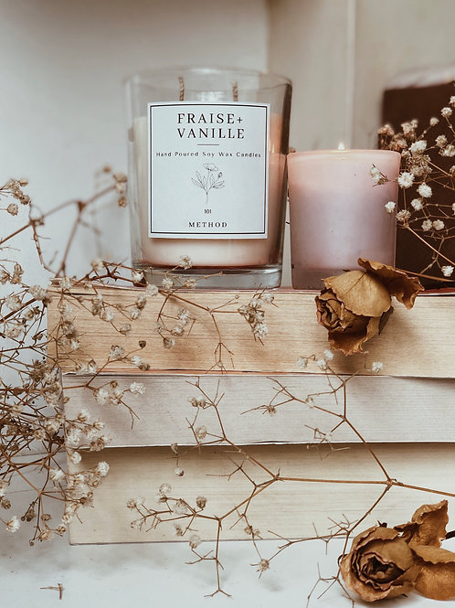 Fraise+Vanille Candles