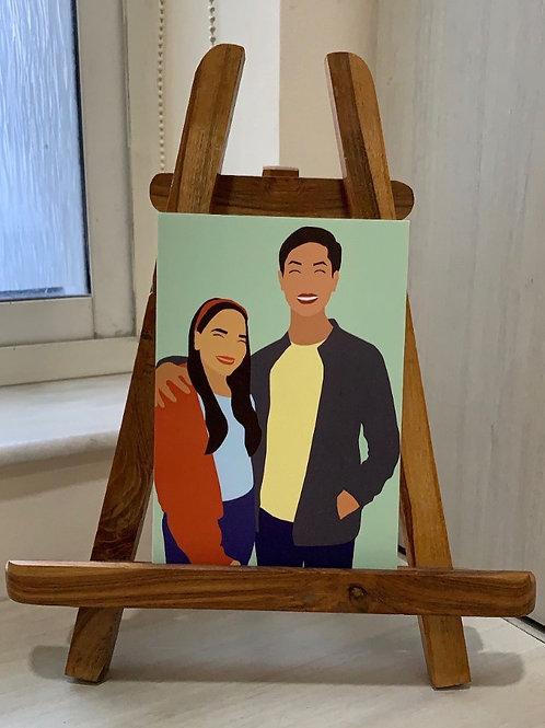 Customized Digital Paintings